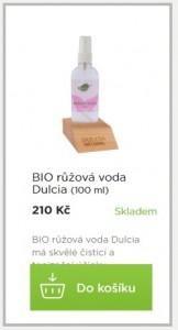 dulcia růžová voda
