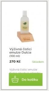 dulcia výživná čisticí emulze