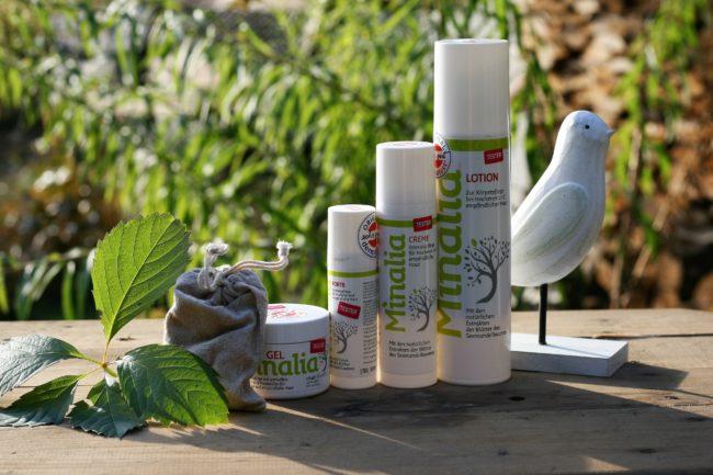 Minalia čistá přírodní kosmetika na ekzém, lupenku a neurodermatitidu pro děti i dospělé