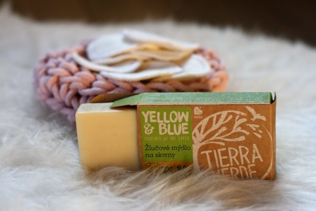 Yellow&Blue Žlučové mýdlo na praní, odstraňovač skvrn