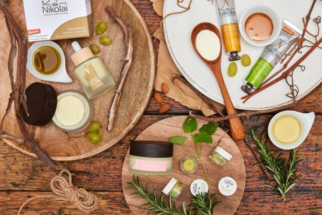dieNikolai rakouská přírodní značka kosmetiky s certifikátem Demeter