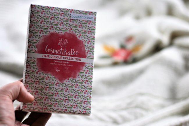 CosmetikaBio česká bio certifikovaná henna na vlasy v papírových krabičkách