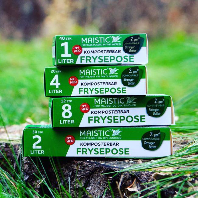 MAISTIC © Bio Group dánská značka ekologických kompostovatelných pomůcek pro domácnost a pomůcek z přírodních materiálů