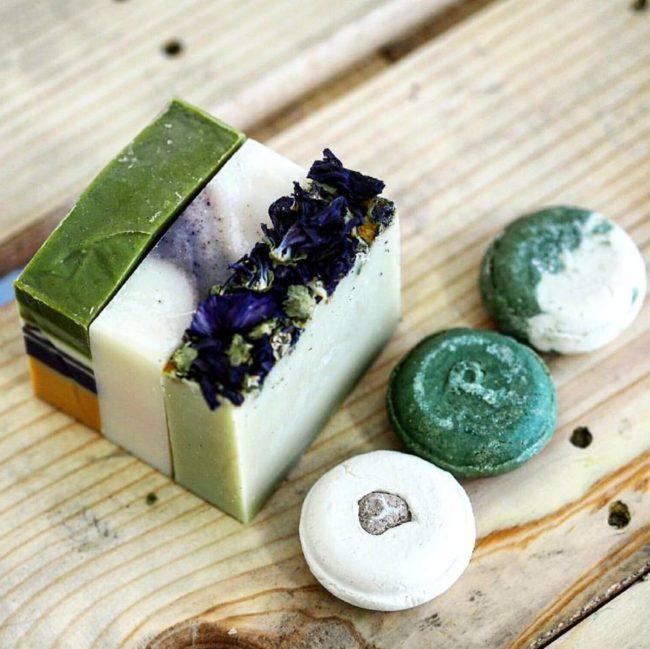 Ponio slovenská značka přírodní ručně vyráběné kosmetiky v papírových obalech