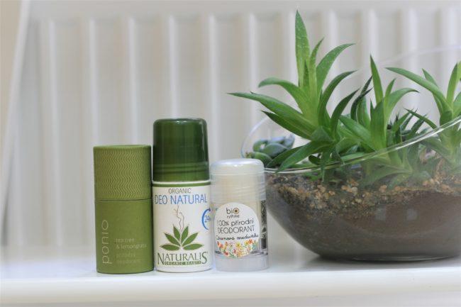 3 top nejoblíbenější přírodní deodoranty