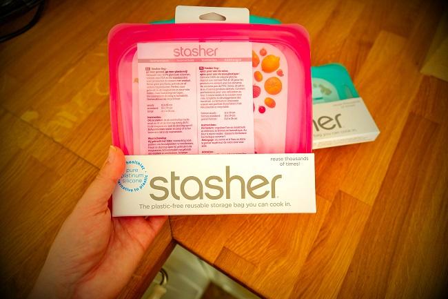 Stasher zdravý silikonový sáček