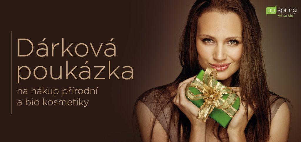 Dárkové poukazy na nákup na www.nuspring.cz