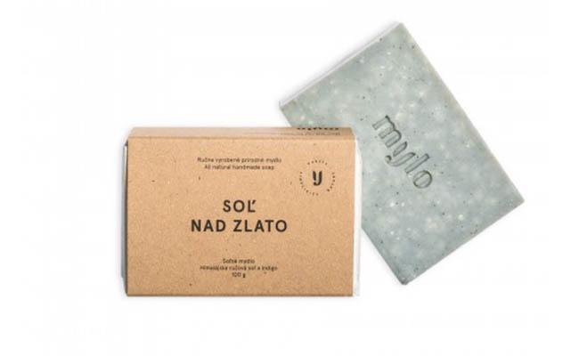 Mylo Sůl nad zlato, solné mýdlo s eukalyptem, rozmarýnem, bergamotem a levandulí