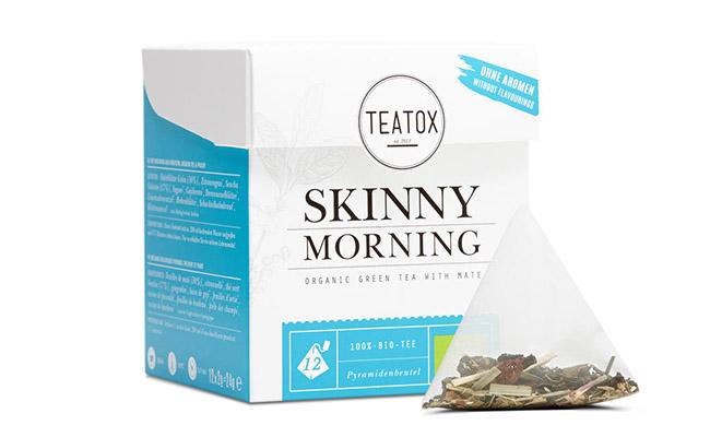 Teatox skinny morning - čaj na hubnutí