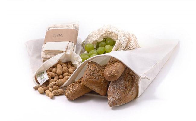 Casa Organica Sada sáčků na potraviny z biobavlny