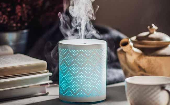 Designový difuzér Nobilis Tilia vám doma zvlhčí vzduch a pomůže s neduhy