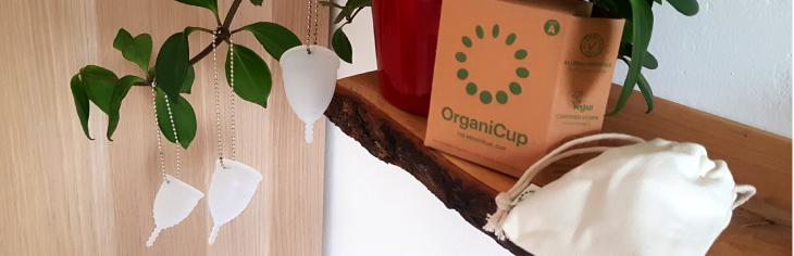 menstruašní kalíšky OrganiCup