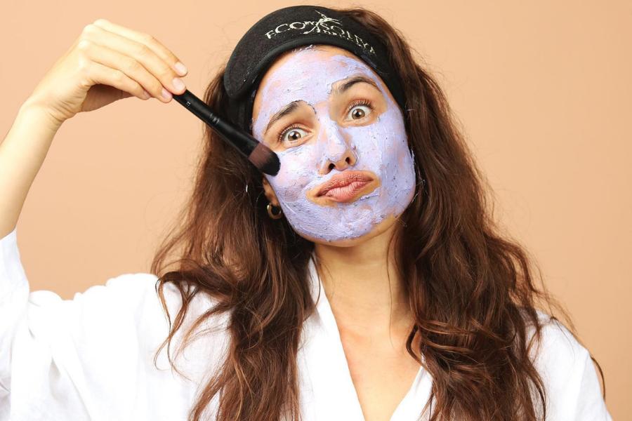 Čisticí pleťová maska Purple Power, Eco by Sonya